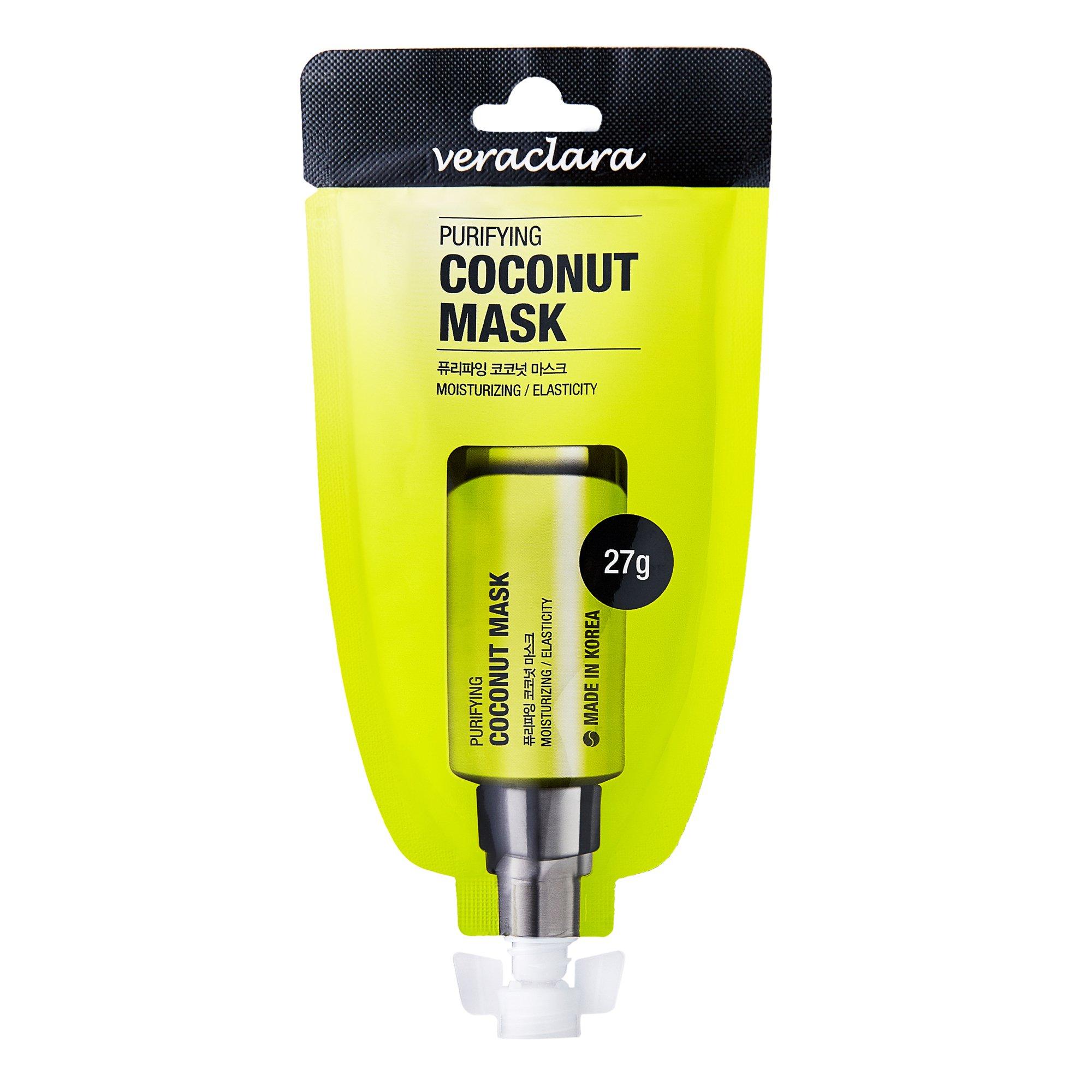 Маска для лица кокосовая очищающая Veraclara PURIFYING COCONUT MASK