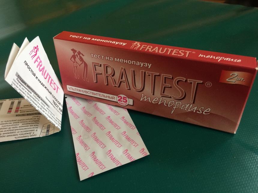 Тест для определения менопаузы Frautest menopause